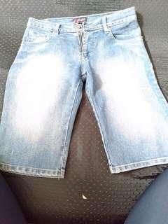 Celana Jeans Pendek anak fiona rock slide