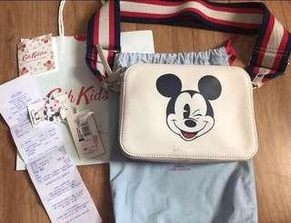 Cath Kidston x Mickey Mouse Bag (used once good as new, complete with receipts, tags,dustbag and paperbag)