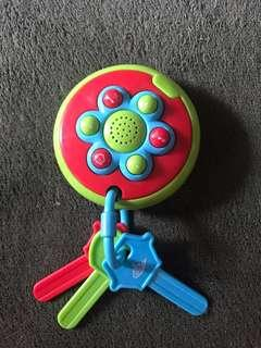 Key toys- battery operated