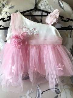 🚚 NEW Baby Girl Tutu Pink Dress
