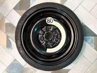 🚚 14 Inch Spare Tyre with ToolKit
