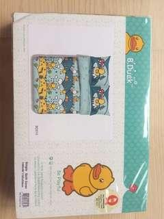 B Duck single quilt cover abs bed sheet