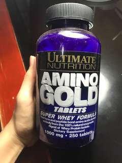 Amino gold tablet