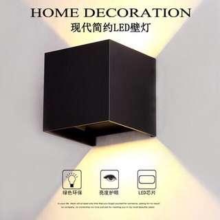 Designer 12w Wall Lamp Effect High Power LED IP65 WaterProof