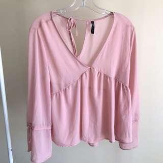 Size 12 pink shirt