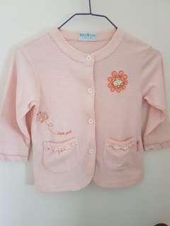 Hippo pink 女童外套