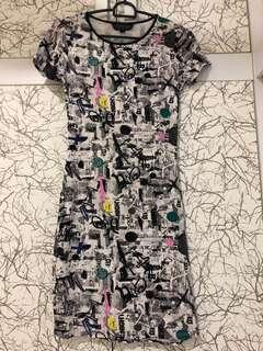 Cotton dress / bodycon dress