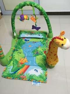 Fisher price tummy time mat