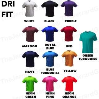 Dri Fit T Shirt Printing Customization