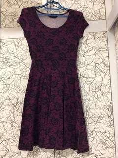 Skater Dress / working dress / cotton dress