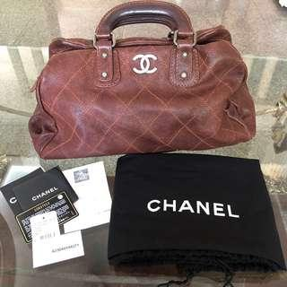 015e06d4c79685 Chanel distressed cavier leather doctor bag - RARE!