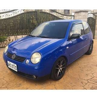 💕睿睿中古車💕2004年 VW Lupo3D 1.4藍
