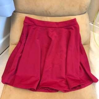 Premium Quality Pink Skater Skirt