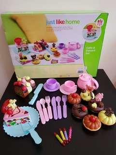 Just Like Home Cake & Dessert Set