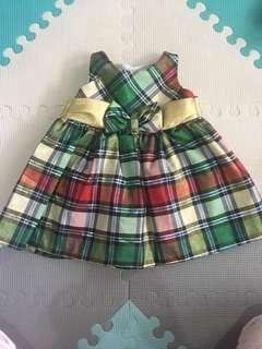 Baby dress 6 to 12 mos