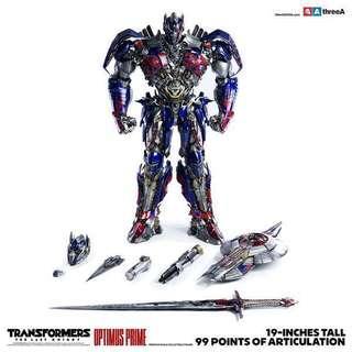 3A 變形金剛5 柯栢文 網上特別版 three zero transformers last knight optimus prime 啡盒 exclusive