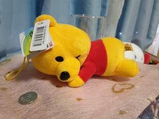 🚚 七吋維尼小熊娃娃