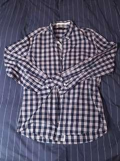 Saba Blue and red checked shirt