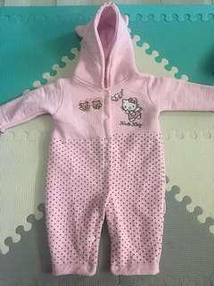Hello kitty romper for 6 months