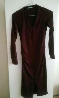 Pretty Kookai Dress in Wine