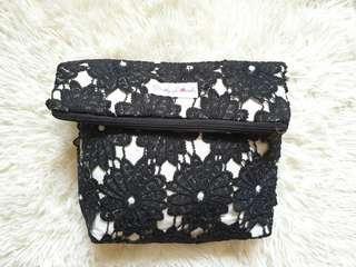 ❤ Black Foldable Sling Bag