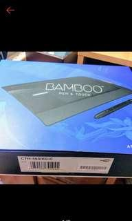 🚚 WACOM Bamboo Pen & Touch 繪圖板 CTH-460