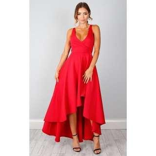 Magic Dancer Dress - Red