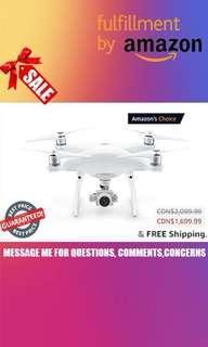 DJI Phantom 4 Professional Drone, Hobby RC Quadcopter & Multirotor, White