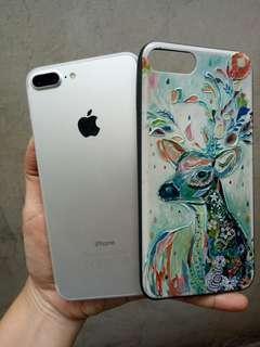 Iphone 7plus 256 finger off fullset mulus ori