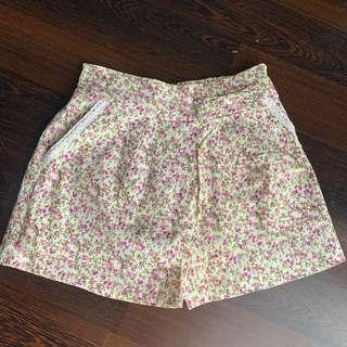 Floral Pants Vintage - Celana Bunga bunga vintage