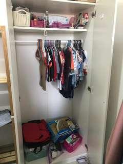 Ikea wardrobe / almari ikea bostrak