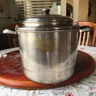不鏽鋼煉鍋/燉鍋/滴雞湯鍋(二手)