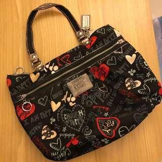Preloved Coach Poppy Tote Bag