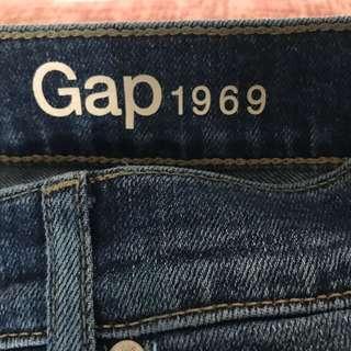 Gap flare cut denim