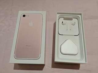 Apple iPhone 7 256GB in Rose Gold