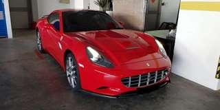 Ferrari California Carbon Fibre Kit (Ready Stock)