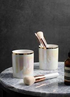 Ceramic Make up Brush Holder Cup