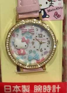 Hello Kitty Watch Pink Japan