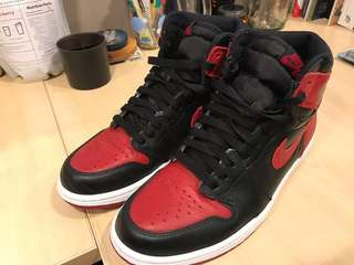 7f45d9877f9f33 Jordan 1 Breds Men s Sneakers!!!! Grail!