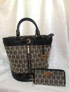 SALE! Bundle Authentic Michael Kors Bag and Wallet