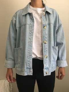 TOPSHOP denim jacket size 10