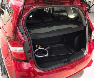 Nissan Note Boot Cover 2017-2019