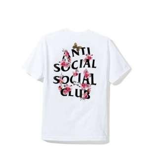 Anti Social Social Club ASSC Kkoch Tee White in S
