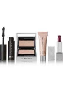 🚚 Burberry Beauty Festive Box (eyeshadow, lipstick, mascara, fresh glow)