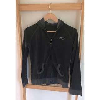 Size S/ Size 8: Fila Activewear hoodie