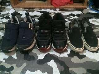 Jordan 11 Breds LX Trunner X Vans slip on size 8 8.5 beaters pack Nike Kobe kyrie yeezy supreme huf dc circa