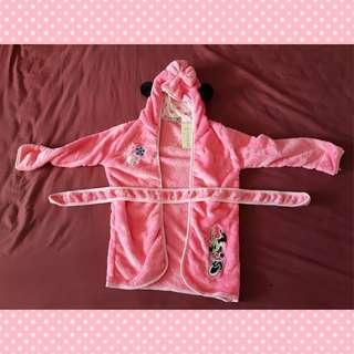 Brand New Pink Minnie Bathrobe / Swimming Robe (Size 120)