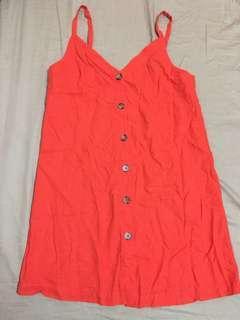 SALE Cami Button Down Mini Dress (Topshop)