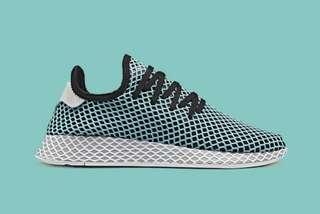 "brand new adidas deerupt x parley runner ""blue spirit"""