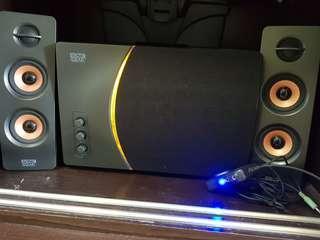 🚚 Sonic Gear Armageddon A5 Speakers